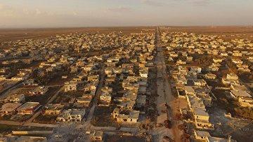 Населенный пункт Осман в Сирии, архивное фото