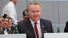 Постоянный представитель РФ в ОБСЕ Александр Лукашевич. Архивное фото