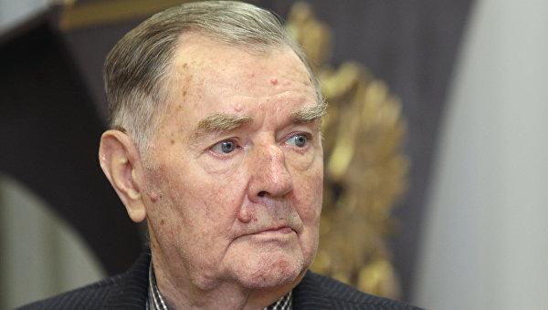 Ветеран футбола Анатолий Ильин. Архивное фото.