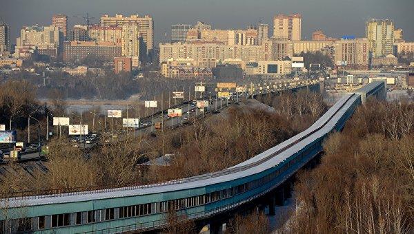 Города России. Новосибирск. Архивное фото