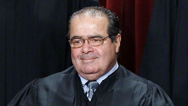 Судья Верховного суда США Антонин Скалиа