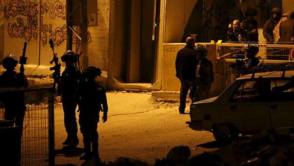 Израильская полиция проводит спецоперацию