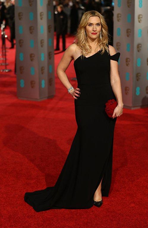 Актриса Кейт Уинслет на церемонии вручения премий Британской академии кино и телевизионных искусств