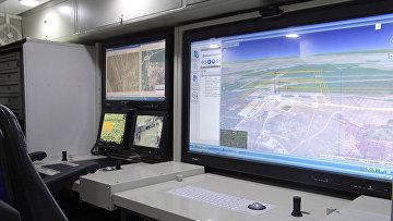 Модернизированный программно-аппаратный комплекс группового управления БЛА и наземными робототехническими комплексами на базе автомобиля КамАЗ-43116