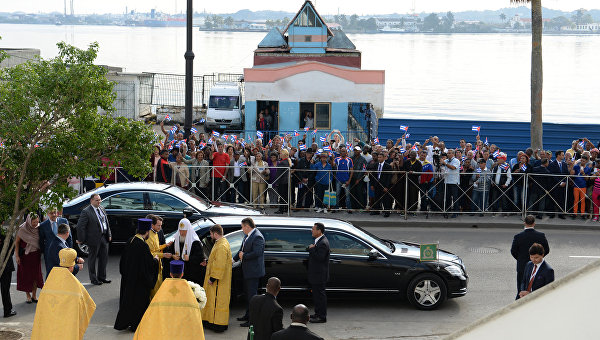Визит патриарха Московского и всея Руси Кирилла на Кубу