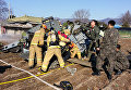 Военный вертолет UH-1H потерпел крушение в провинции Канвондо на востоке Южной Кореи
