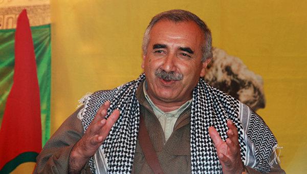 Руководитель Рабочей партии Курдистана Мурат Карайылан