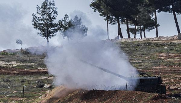 Позиция турецких военных на границе Турции и Сирии, Архивное фото