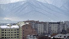 Вид города Владикавказа. Архивное фото