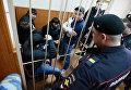 Рассмотрение ходатайства следствия о продлении срока ареста фигурантам дела об убийстве политика Бориса Немцова