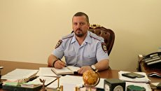 Глава МВД ЛНР Игорь Корнет. Архивное фото