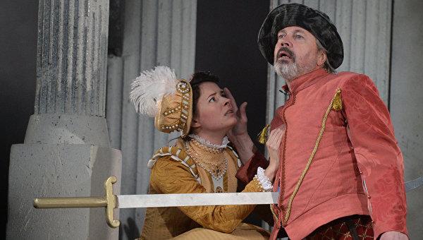 Генеральный прогон премьерного спектакля Дон Джованни в театре им. М.Н.Ермоловой