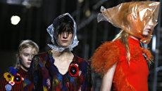 Показ Christopher Kane в рамках Недели моды в Лондоне