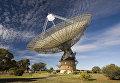 Антенна 64-метрового радиотелескопа Паркс в Австралии