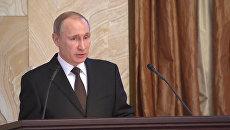Путин оценил работу спецслужб в борьбе с готовящими удары по РФ террористами