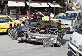 На одной из улиц Дамаска в первый день перемирия