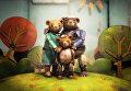 """Кадр из чилийского мультфильма """"Медвежья история"""", получившего """"Оскар"""" как лучший короткометражный мультфильм"""