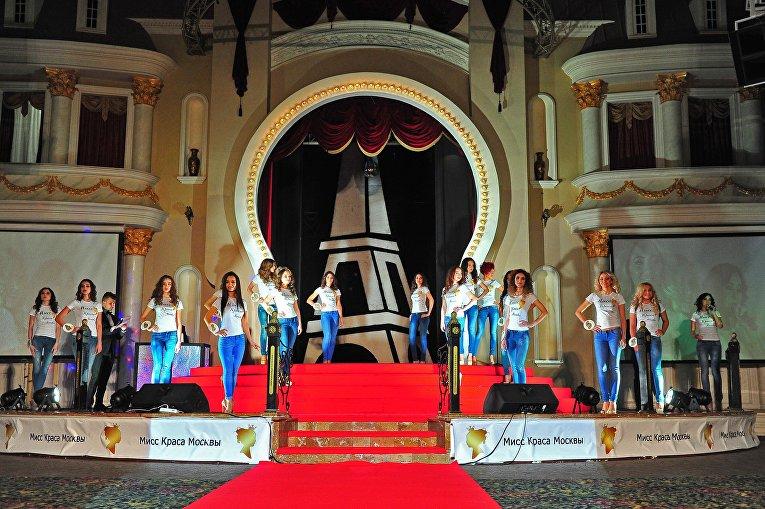 Участницы конкурса красоты Мисс Краса Москвы — 2016