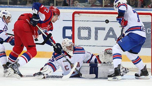 Хоккей. КХЛ. Матч Локомотив - СКА