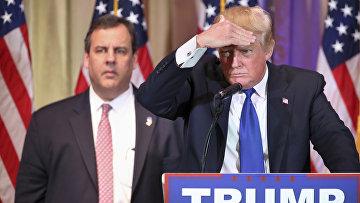 Кандидат в президенты от партии республиканцев Дональд Трамп. Архивное фото