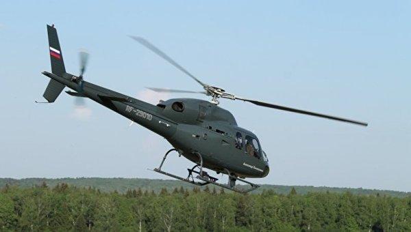Вертолет Eurocopter АS-365. Архивное фото