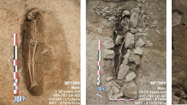 Могилы берберов, найденные в южной Франции
