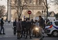 Траурная месса в соборе Парижской Богоматери