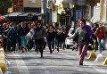 Разгон женской демонстрации в Стамбуле