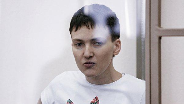 Украинская летчица Надежда Савченко. 10 марта 2016