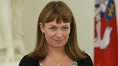 Супруга Михаила Саакашвили Сандра Рулофс. Архивное фото