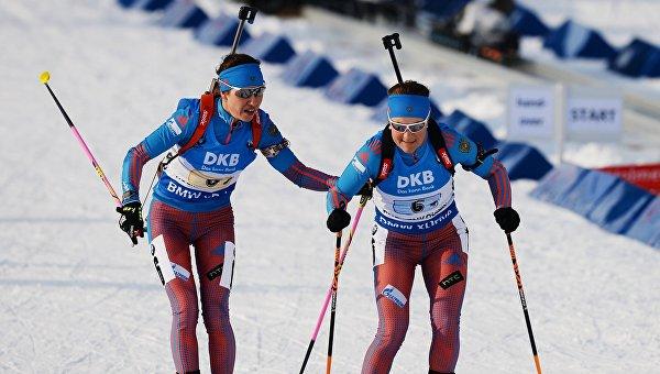 Дарья Виролайнен и Екатерина Юрлова. Архивное фото