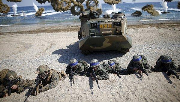 Совместные учения Южной Кореи и США