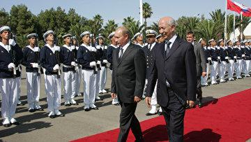 Официальный визит президента России в Королевство Марокко. Архив