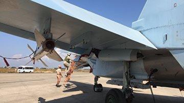 Российская авиабаза Хмеймим в Латакии. Сирия. Архивное фото