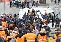 Задержание журналиста Грэма Филиппса на марше ветеранов СС в Риге, Латвия. 16 марта 2016
