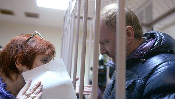 Александр Коченов в Лефортовском суде города Москвы