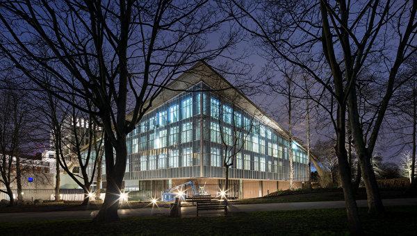 Здание Музея дизайна в Лондоне, Великобритания