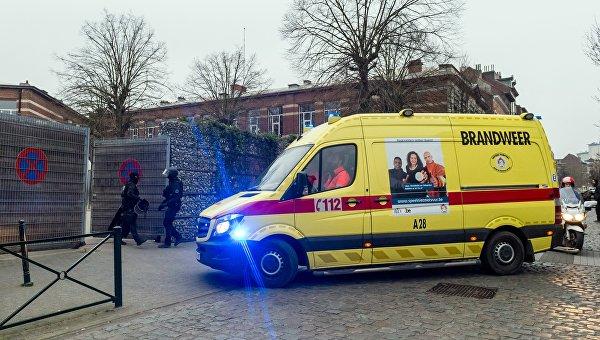 ВБельгии вспортцентре произошел взрыв