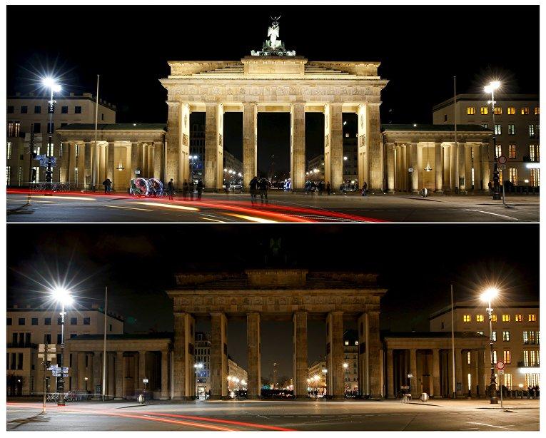 Экологическая акция Час Земли в Берлине, Германия