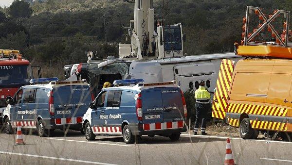 Крупное ДТП в Испании