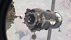 Стыковка космического грузовика Прогресс-МС с МКС. Архивное фото