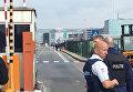 Полиция у аэропорта в Брюсселе, Бельгия. 22 марта 2016