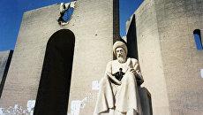 В старой части города Эрбиль - столицы Курдистана на севере Ирака. Архивное фото