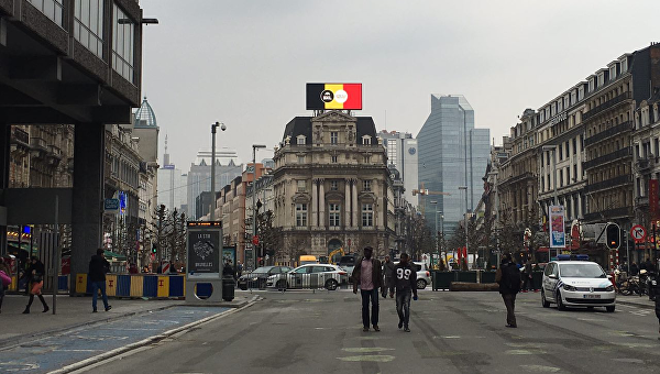 На улицах Брюсселя. Архивное фото