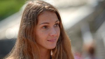 Спортсменка сборной России по плаванию Яна Мартынова