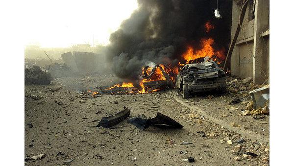 Теракт   Багдаде. Архивное фото