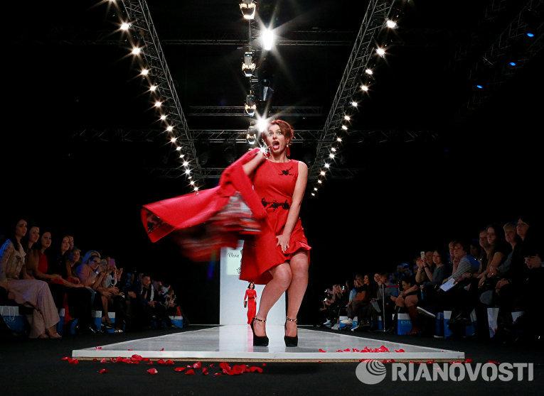 Неделя моды в Москве Сделано в России. День второй