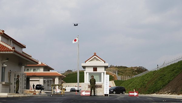 Япония разместила военный гарнизон на острове Ёнагуни