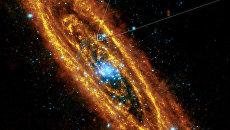 Пульсар в галактике Андромеды