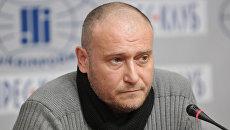 Бывший лидер запрещенной в России организации Правый сектор Дмитрий Ярош. Архивное фото